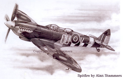 Spitfire by Alan Stammers
